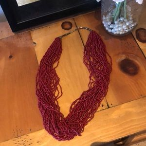 Red Hanging Necklace